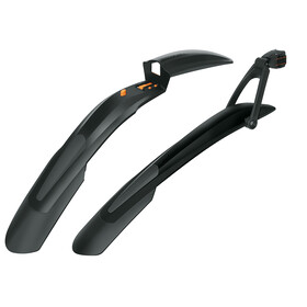 "SKS Shockblade & X-Blade Dark Mud Guard Set 28/29"" black"